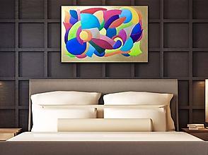Obrazy - Obraz Energy Flow - 10296783_