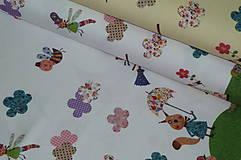 Textil - Čarodejnice úplet digi - 10296894_