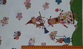 Textil - Čarodejnice úplet digi - 10296895_