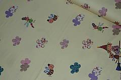 Textil - Čarodejnice úplet digi - 10296896_
