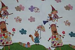 Textil - Čarodejnice úplet digi - 10296901_