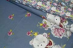 Textil - Maco veľký alebo malý úplet digi - 10298353_