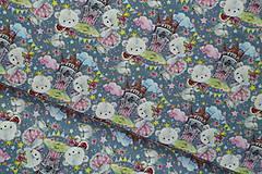 Textil - Maco veľký alebo malý úplet digi - 10298357_