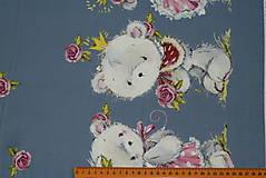 Textil - Maco veľký alebo malý úplet digi - 10298360_
