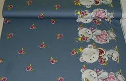 Textil - Maco veľký alebo malý úplet digi - 10298361_