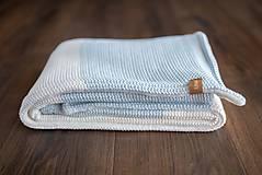 Textil - Zimná Deka do Kočíka a Postieľky, ,,BlueEye2