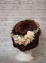 Ozdoby do vlasov - Kvetinový venček - 10299453_