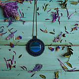 Náhrdelníky - Achátový n.10 - šitý náhrdelník - 10297631_
