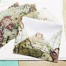 Papier - polopriehľadná papierová obálka Marco Polo - 10296246_