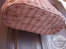 Košíky - Závesný košík  28x21 cm ihneď k odberu - 10299171_