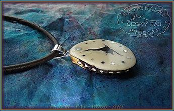 Náhrdelníky - 556. Náhrdelník TAGUA - Bílý ořech - Ekvádor - 10296161_