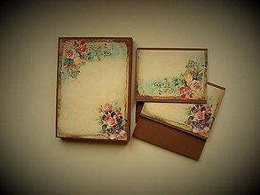 Papiernictvo - krabička na foto a 2x obal na CD - 10297015_