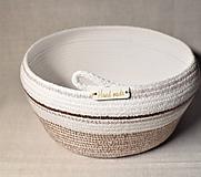 Košíky - Z kolekce Latte macchiato 096 - 10298485_