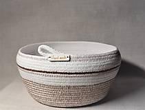 Košíky - Z kolekce Latte macchiato 096 - 10298487_