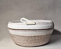 Košíky - Z kolekce Latte macchiato 096 - 10298488_
