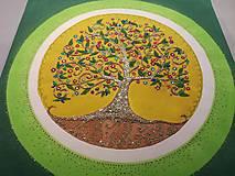 Obrazy - Strom života 45x45cm - 10299504_