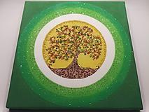 Obrazy - Strom života 40x40cm - 10299522_