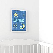 Detské doplnky - Personalizovaný obrázok - Sovička - 10299838_