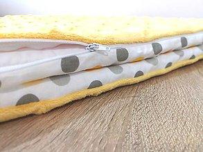 Textil - Deka s vyberateľnou vložkou. - 10299846_