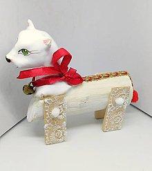 Socha - Biela mačka - 10297439_