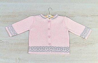 Detské oblečenie - Pletený svetrík