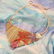 Náhrdelníky - Macramé náhrdelník - 10299471_
