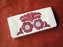 Peňaženky - Peňaženka krémová - 10297961_