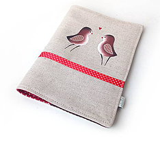 Papiernictvo - Obal na knihu Hnedé vtáčiky - 10297735_