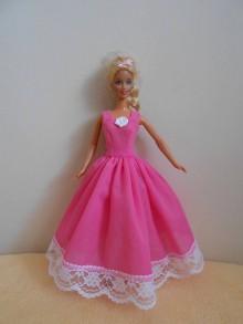 Hračky - Šaty pre barbie - 10299246_