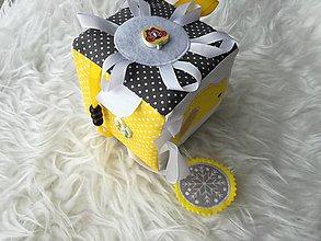 Hračky - Susugo Montessori hracia kocka. - 10298747_