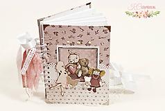 Papiernictvo - Tehotenský denník Bude to dievčatko I - 10302929_