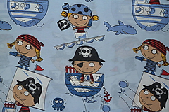 Textil - Látka Piráti - 10300657_