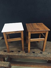 Nábytok - Vintage stolček