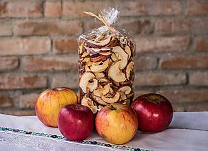 Potraviny - Sušené jablkové mesiačiky RAW - 10301393_