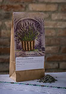 Potraviny - Bylinkový čaj - Medovka a levanduľa - 10301897_