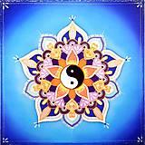 Dekorácie - Mandala Vyváženej sily - 10300291_