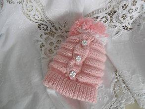 Detské čiapky - Detská čiapka. - 10300166_
