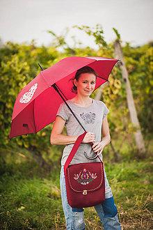 Kabelky - Filcová folk taška výšivka - 10302521_
