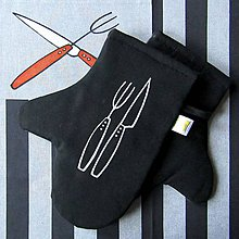 Úžitkový textil - ZKŘÍŽÍME ZBRANĚ - chňapky - 10302857_