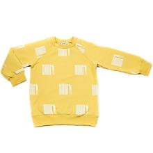 Detské oblečenie - Detská mikina - žlté rebríky - 10300518_