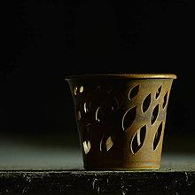 Svietidlá a sviečky - Lampička Véčko lístek - Klasik Rustikal - 10300961_
