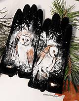 Rukavice - sovičky Harryho Pottera - 10302488_