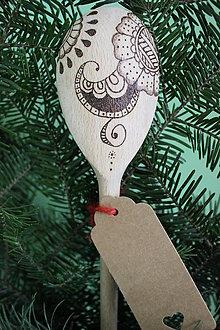 Pomôcky - Vypaľovaná vareška kvet s ornamentom - 10301163_