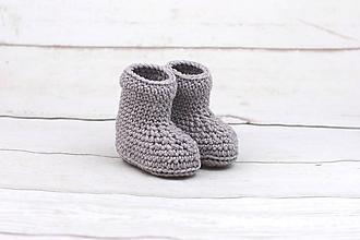 Topánočky - Béžové papučky zimné EXTRA FINE - 10301195_