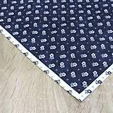 Úžitkový textil - Kuchyňa v modrom - obrúsok štvorec 40x40 - 10299871_