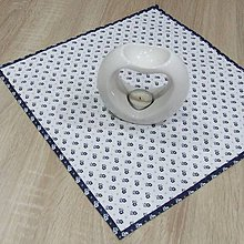 Úžitkový textil - Kuchyňa v modrom(2) - obrúsok štvorec 40x40 - 10300183_