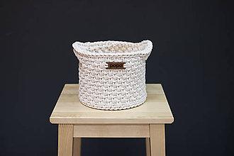 Košíky - Košík s rúčkami - 10300532_