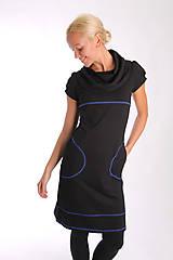 Šaty - NUMBER SEVEN... black dress - 10303069_