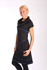 Šaty - NUMBER SEVEN... black dress - 10303070_
