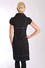 Šaty - NUMBER SEVEN... black dress - 10303071_